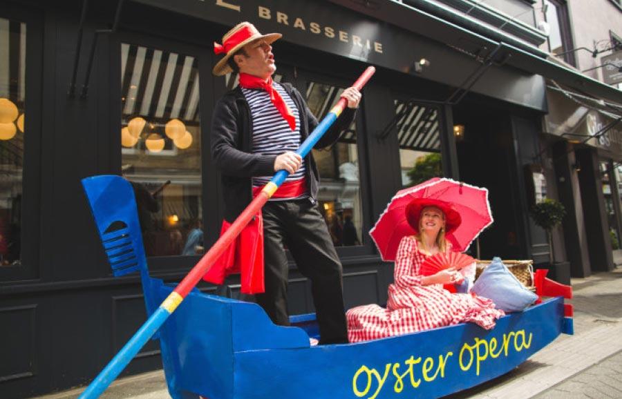 Oyster Opera Venetian Gondola – Fiona Tanner Baldwin